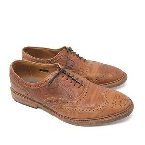 Allen Edmonds Shoes Cognac McTavish Wingtip Oxford